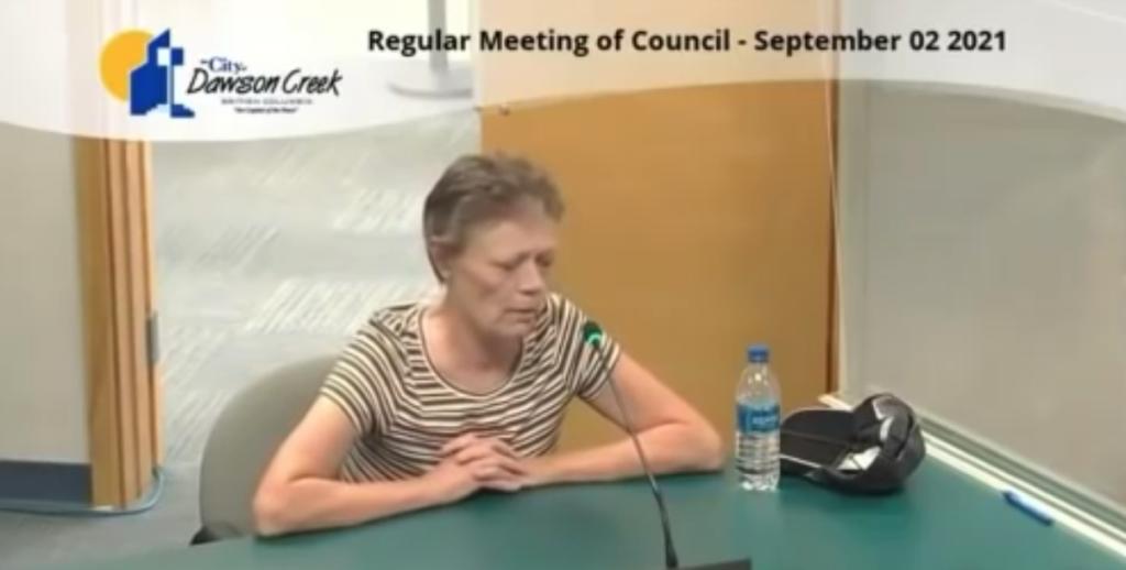 Gina Gold – Molecular Biologist – Nuremberg Code – Dawson Creek City Council meeting